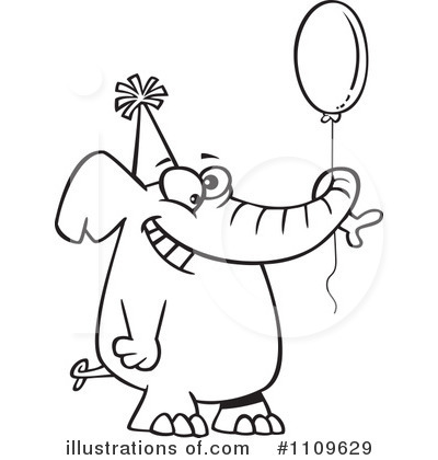 Birthday Clipart #1109629 by toonaday