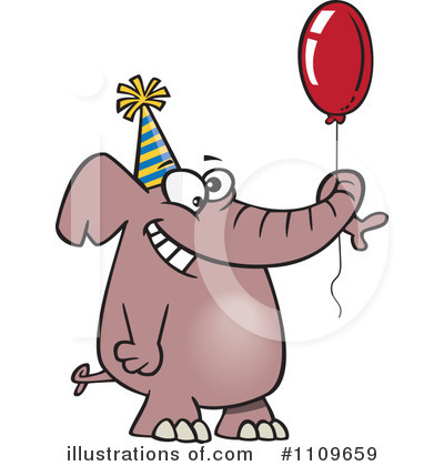 Birthday Clipart #1109659 by toonaday