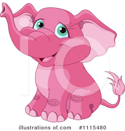 Elephant Clipart #1115480 by Pushkin