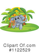 Elephant Clipart #1122529 by Graphics RF