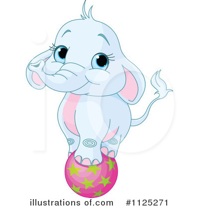 Elephant Clipart #1125271 by Pushkin
