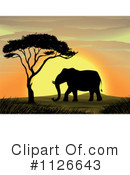Elephant Clipart #1126643 by Graphics RF