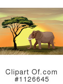 Elephant Clipart #1126645 by Graphics RF