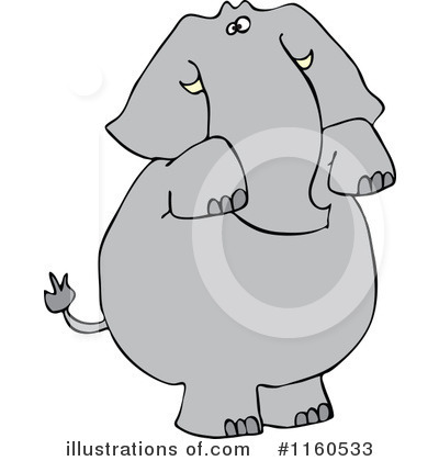 Elephant Clipart #1160533 by djart