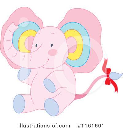Elephant Clipart #1161601 by Cherie Reve