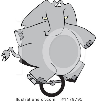 Elephant Clipart #1179795 by djart
