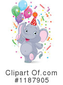 Elephant Clipart #1187905 by Pushkin