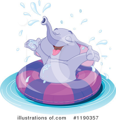Elephant Clipart #1190357 by Pushkin