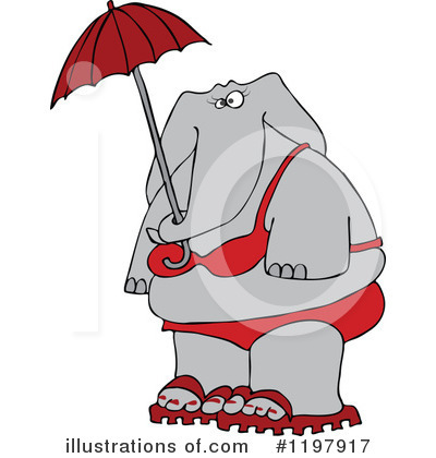 Elephant Clipart #1197917 by djart