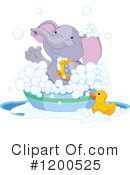 Elephant Clipart #1200525 by Pushkin