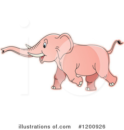Elephant Clipart #1200926 by Lal Perera