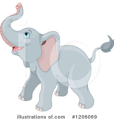 Elephant Clipart #1206069 by Pushkin