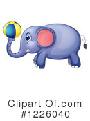Elephant Clipart #1226040 by Graphics RF