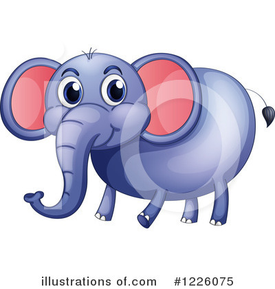 Elephant Clipart #1226075 by Graphics RF