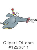 Elephant Clipart #1226811 by toonaday
