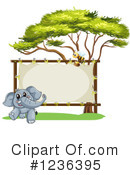 Elephant Clipart #1236395 by Graphics RF
