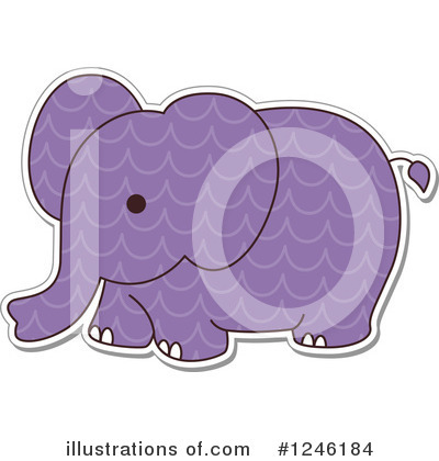 Zoo Animals Clipart #1246184 by BNP Design Studio