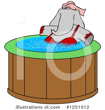 Elephant Clipart #1251012 by djart