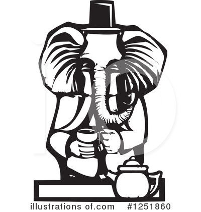 Elephant Clipart #1251860 by xunantunich