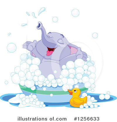 Elephant Clipart #1256633 by Pushkin