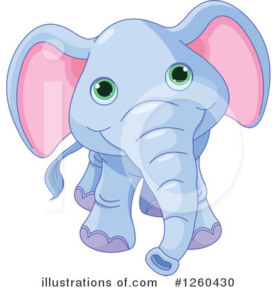 Elephant Clipart #1260430 by Pushkin