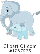 Elephant Clipart #1267235 by Pushkin