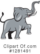 Elephant Clipart #1281491 by patrimonio