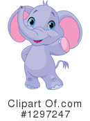Elephant Clipart #1297247 by Pushkin