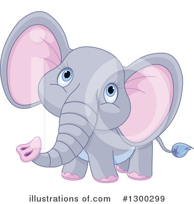 Elephant Clipart #1300299 by Pushkin