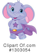 Elephant Clipart #1303054 by Pushkin