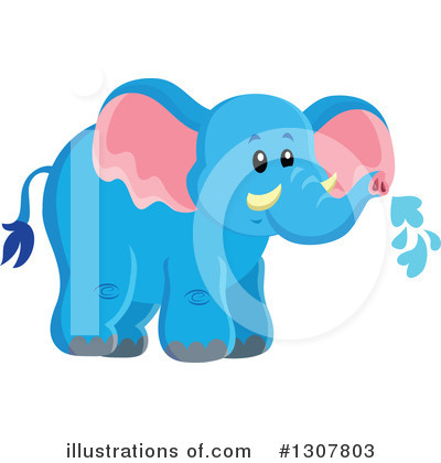 Elephant Clipart #1307803 by visekart