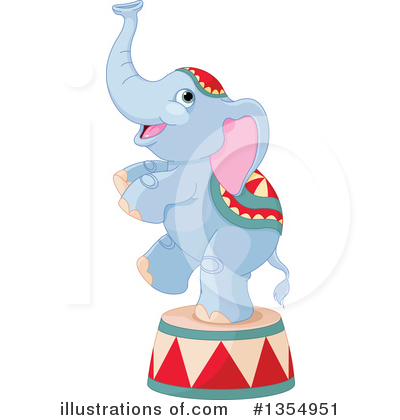 Elephant Clipart #1354951 by Pushkin