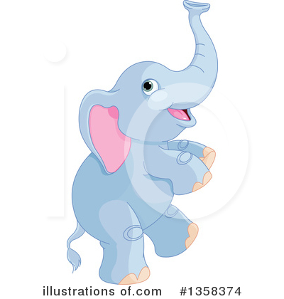 Elephant Clipart #1358374 by Pushkin