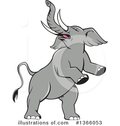 Elephant Clipart #1366053 by patrimonio