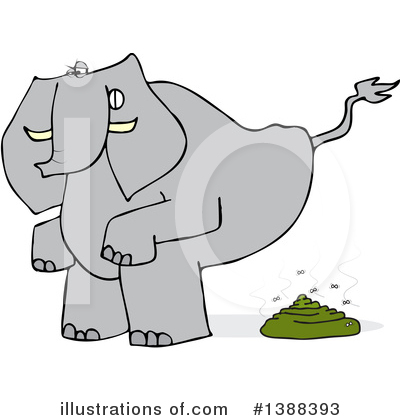 Elephant Clipart #1388393 by djart