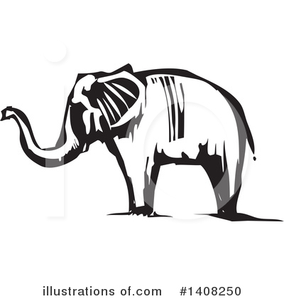 Elephant Clipart #1408250 by xunantunich