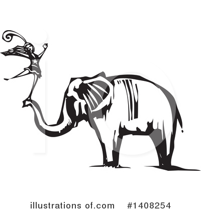Elephant Clipart #1408254 by xunantunich