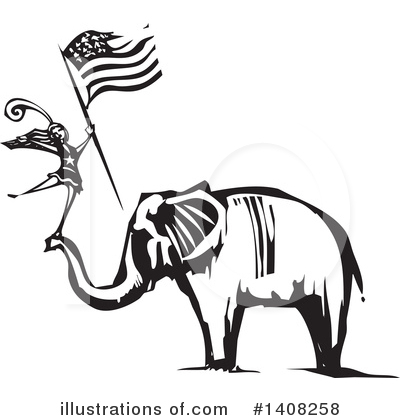 Elephant Clipart #1408258 by xunantunich