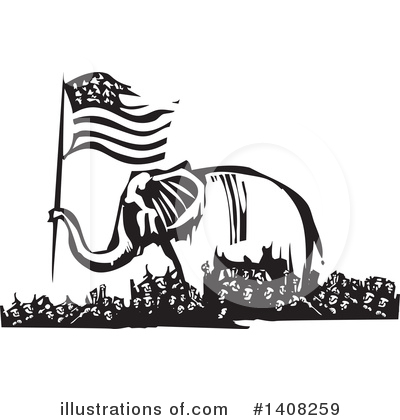 Elephant Clipart #1408259 by xunantunich