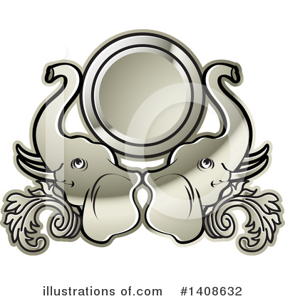 Label Clipart #1408632 by Lal Perera