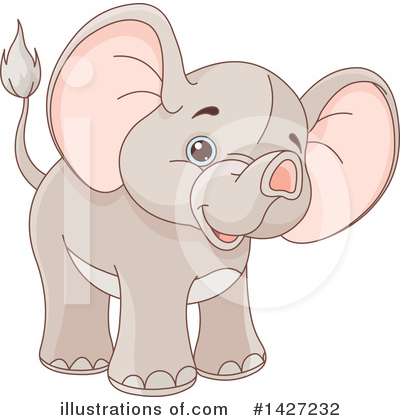 Elephant Clipart #1427232 by Pushkin