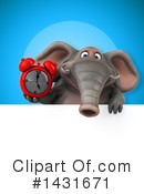Elephant Clipart #1431671 by Julos