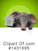 Elephant Clipart #1431695 by Julos
