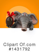 Elephant Clipart #1431792 by Julos