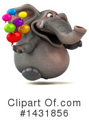Elephant Clipart #1431856 by Julos