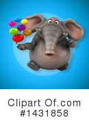 Elephant Clipart #1431858 by Julos