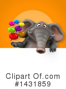 Elephant Clipart #1431859 by Julos