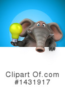 Elephant Clipart #1431917 by Julos