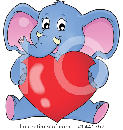 Elephant Clipart #1441757 by visekart