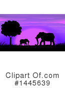 Elephant Clipart #1445639 by Graphics RF